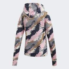 Chaqueta con capucha adidas Z. Bell Sleeves, Bell Sleeve Top, Pink Grey, Blouse, Long Sleeve, Outfits, Tops, Sport, Nike