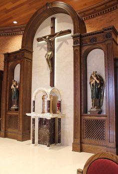 St Matthew's sanctuary renovation