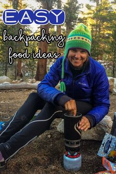 Simple Lightweight Backpacking Food Ideas – Top Picks from the John Muir Trail Simple lightweight backpacking food ideas from my John Muir Trail hike. These are delicious, easy to prepare & require little cleanup. Camping Diy, Bushcraft Camping, Ultralight Backpacking, Backpacking Tips, Hiking Tips, Camping Meals, Tent Camping, Camping Hacks, Winter Camping
