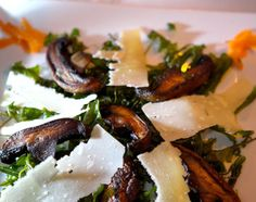 St. Barths, Caribbean: Even vegetarian dishes like portobello mushrooms with shaved Reggiano shine at L'isola on St. Barths.