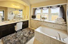 Master #Bathroom elegant glass tile Design and #Decor