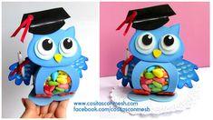 ¡Regala buhitos de goma eva para su graduación!