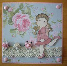 images of magnolia tilda card by sarah1972 wallpaper