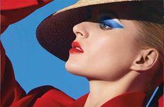 Campanha da coleção de maquiagem Dior Transatlantique, para a primavera 2014