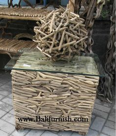 This would make great patio or cottage furniture for outside cuz it's already well seasoned.