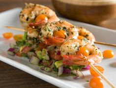 Grilled Cumin Prawns with Avocado Salsa | Nugget Market Recipes