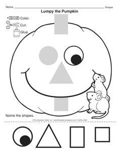 Lumpy the Pumpkin, Lesson Plans - The Mailbox