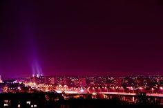 Wrocław in the night.