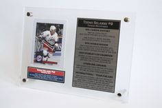 Fans of Teemu Selanne, the Winnipeg Jets, or Finland Olympic Hockey will love our Teemu Selanne trading card display. Premium quality and fast shipping make this the perfect gift idea for any Selanne fan!