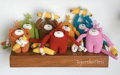 Amigurumi: monos (crochet)! Paso a paso :)