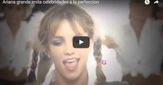 Impresionante como Ariana Grande imitó a Shakira, Britney Spears y más a la perfeccion (Video ↓)