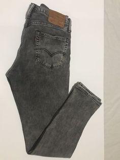 4caf5b1c72f Levis 511 34/32 Slim Fit Jeans Mens Zip Fly Denim #fashion #clothing