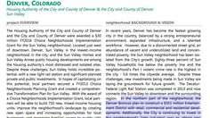 """A reference to a Denver Broncos entertainment district project appears in a HUD report on recipients of its latest set of """"Choice Neighborhoods"""" grants."""