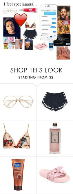 """""""BlackBoyJoy"""" by cluelesshoe ❤ liked on Polyvore featuring NIKE, Katie Eary, Serge Lutens and Puma"""