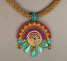 Wired Micro Macrame Jewelry Designs by Joan Babcock - The Beading Gem's Journal