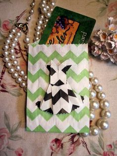 Bitty Bag origami gift card holder by Jan Ely