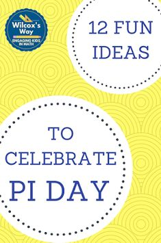 Fun ideas to celebrate Pi Day in your middle school math classroom High School Activities, Math Activities, Math Games, Steam Activities, Math Resources, 7th Grade Math, Sixth Grade, Second Grade, Fourth Grade