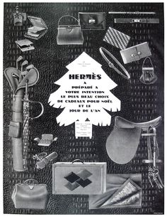 At all times, luxury brands have capitalised on the holiday season to communicate (Hermès print ad campaign 1927) - See more at www.atelierluxe.com Vintage Bags, Vintage Handbags, Hermes Vintage, Hermes Bolide, Hermes Purse, Leather Tutorial, Gatsby Style, Art Deco Fashion, Vintage Fashion