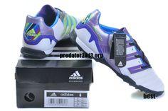b880e9c74f24 Adidas Predator 2012 Beckham TF Cleats White Purple Beckham Soccer Shoes   Purple  Womens  Sneakers