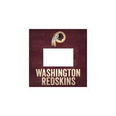 "NFL Washington Redskins Fan Creations 10""x10"" Picture Frame Sign"