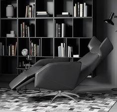 Butaca reclinable Harvard por René Hougaard para BoConcept