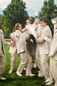 Nothing like a big smile on the big day! // Philanthro Creative Photography #wedding #photography #ohio