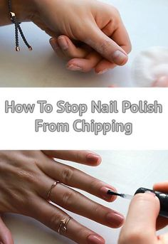 How To Stop Nail Polish From Chipping. A tutorial on ho to properly prep your nails and prevent nail polish from chipping, flaking and peeling for up to a week! Make your regular nail polish last twice as long with my simple video tutorial and tips! Nail Polish Hacks, Nail Polish Colors, Gel Nail Polish, Nail Tips, No Chip Polish, No Chip Nails, Chipped Nail Polish, Long Lasting Nail Polish, Natural Nail Polish