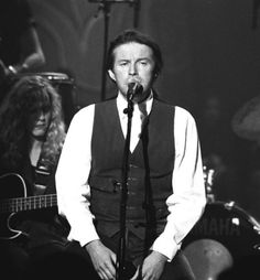 """Don Henley MTV Unplugged.  It believe my mom recorded this episode every time it aired. She couldn't risk her VHS tape breaking :)  We especially loved Don's performance of """"Come Rain Or Come Shine""""."""