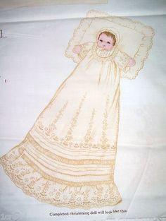 Christening doll panel
