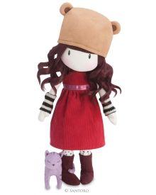 Gorjuss Cloth Doll - Purrrrrfect Love
