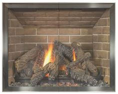 Lowes Fireplace Doors And Doors On Pinterest