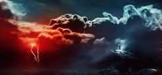 """The Creation of """"The Storm is Approaching"""" Artwork in Photoshop"""
