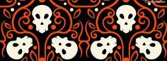 Skulls Halloween Style Facebook Cover