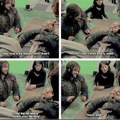 """Aidan being mean to Dean ha ha ! -- Dean calling Aidan """"Aids"""" OMG (why I found that so cute XD)"""