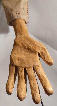 The Boy's hand.