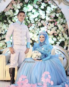 Fairy tales are for everyone . . Gorgeous Cinderella Dress by @kikiimahendra . Suit of the Prince by @kikiimahendra . The Crown by @kikiimahendra . Flawless Make up by @how_balikpapan . wedding organizers by Agashi Project @nisa_syasya . Decoration by Viktor . MC by Said Husin & @regina.indiana . videography by @lukmanhushak . beautifully captured by @pastel_studio . . Thank you all so much for the wishes and the support . #azkilovestory #cinderella #prince #cindrellawedding #weddingdream…