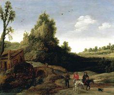 Esaias van der Velde, Landscape with a bridge 1622 - Google Search