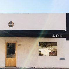 A.P.C. store in Los Angeles.