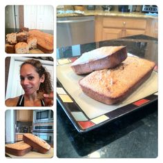 protein bread.. easy, healthy, yummy!