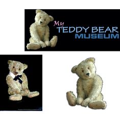 My Teddy Bear Museum by teddybear0210 on Polyvore