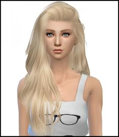 Image result for sims 4 hair cc simista