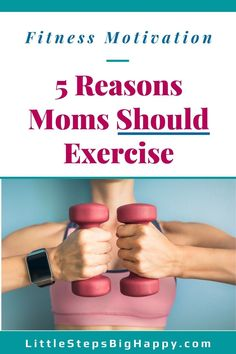Click to see the top 5 reasons why you should make a fitness new year's resolution in 2020. This article has the motivation you need to make exercise a priority in the new year. Fitness inspiration to help moms focus on getting healthy and fit. #fitnessnewyearsresolutions #fitnessgoalsettings #2020goals #exercisemotivation #newyearsgoals Start Losing Weight, Lose Weight In A Month, Want To Lose Weight, Weight Loss For Women, Weight Loss Tips, Fitness Goals, Fitness Tips, Weights For Beginners, Healthy Lifestyle Motivation