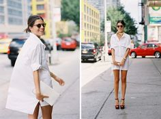 Vanessa Jackman: New York Fashion Week SS 2014....Leandra