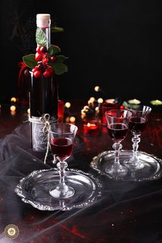 Homemade Cherry Liqueur