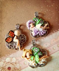<3 cute pendants.  No link, just inspirational picture