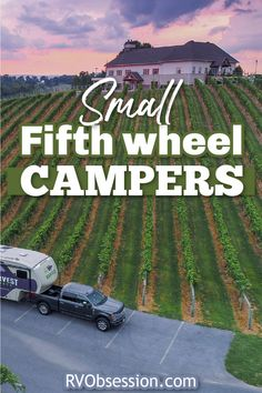 Looking for a small fifth wheel camper? They're a little bit hard to find, but there are small fifth wheelers available. See our selection here. Small fifth wheel campers | Fifth wheel floor plans small | Small 5th wheel camper | Small fifth wheel trailers | Fifth wheel tiny house 5th Wheel Camper, Fifth Wheel Campers, Fifth Wheel Trailers, Small Camper Vans, Small Campers, Camper Flooring, Buying An Rv, 5th Wheels, Small Small