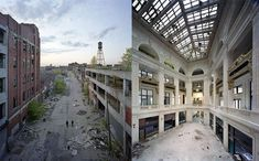 Ruins of Detroit ~ Photographers Yves Marchand and Romain Meffre