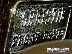 La marque automobile Américaine de voitures Christie fut fondée en 1904, la marque s'éteignit en 19??.