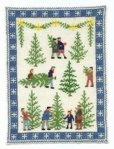 Christmas Trees by Gerda Bengtsson, Danish Handcraft Guild