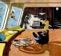 Space age: Amazing retro futuristic homes of the '60s - Click Americana